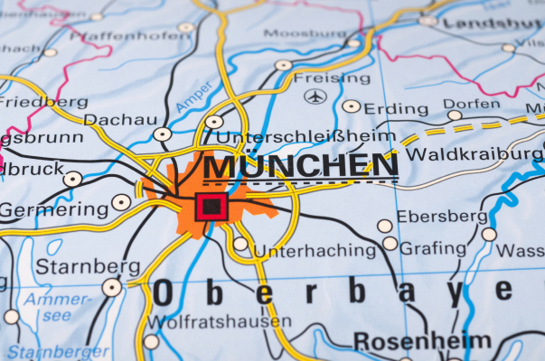 Karte München und Umgebung